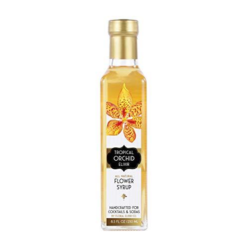 Floral Elixir Co. Floral Elixir Co. Tropical Orchid Elixir - All Natural Syrup for Cocktails & Sodas, 8.5 oz price tips cheap