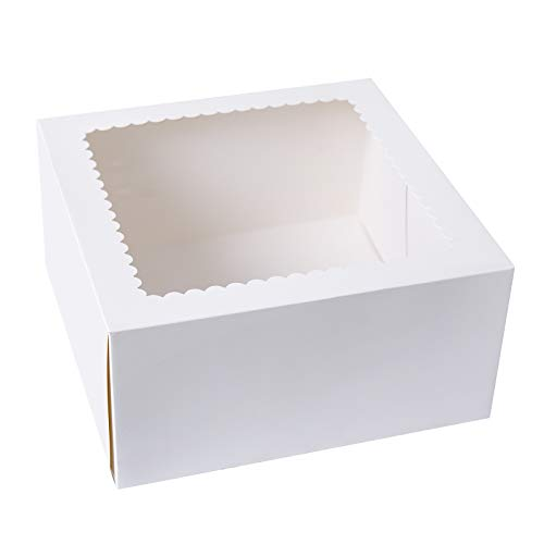 Looking for a bakery boxes with window 8x8x4? Have a look at this 2020 guide!