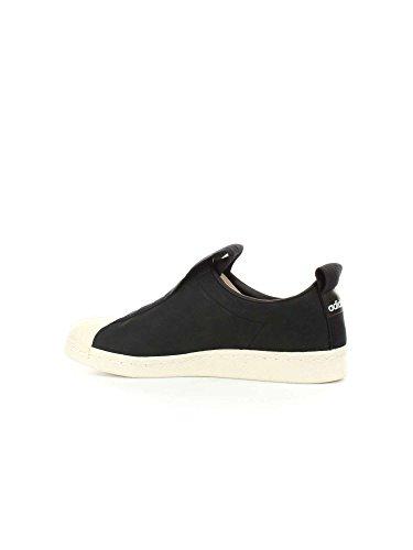 adidas Superstar Bw3s Slipon W, Zapatillas de Gimnasia Para Mujer Negro (Negbas / Negbas / Casbla 000)