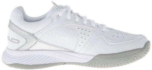 HEAD Sprint Team WHGS, Women's Tennis Shoes White (White/Grey/Silver Whgs)