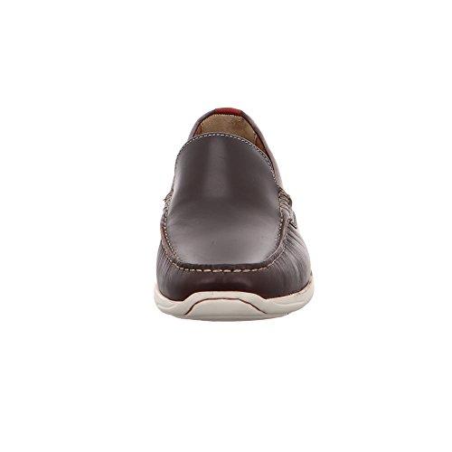 Clarks Karlock Lane - Mocasines, Hombre Brown Leather