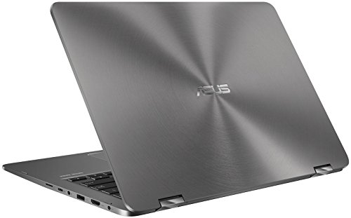 "ASUS ZenBook Flip UX461UN-DS74T (i7-8550U, 16GB RAM, 512GB NVMe SSD, NVIDIA MX150 2GB, 14"" Full HD, Windows 10) Touchscreen Laptop - Gray"
