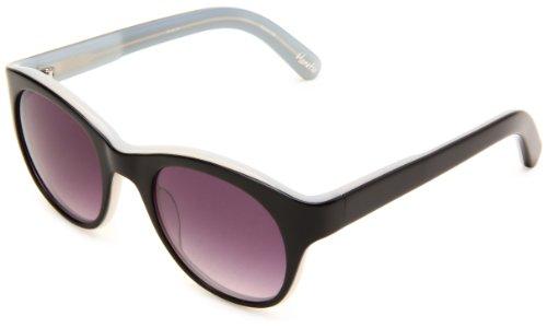 Elizabeth and James Horatio Round Sunglasses,Black Frame/Smoke Lens,One - Sunglasses Horatio