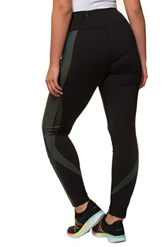 Sport Popken gris Tourterelle 717896 Inspiration Ulla Legging Grandes Noir Tailles Femme Imprimé De Yoga 1qxqgA