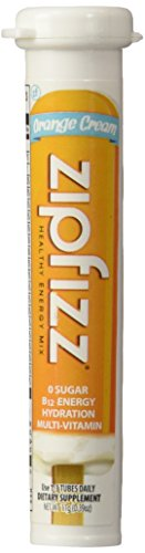 Zipfizz Orange Cream Healthy Energy Drink Mix – Transform Your Water Into a Healthy Energy Drink – 30 Orange Cream Tubes Review