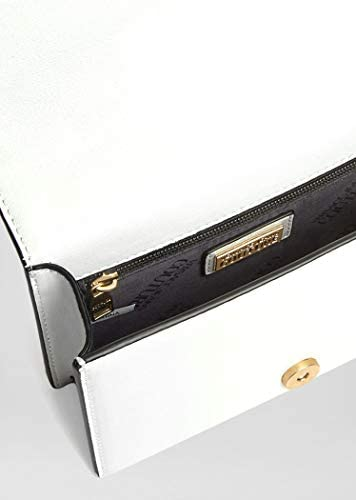 Luxe Fashion | Versace Jeans Femme E1VVBBS171493003 Sac à bandoulière en cuir blanc | Printemps Été 20