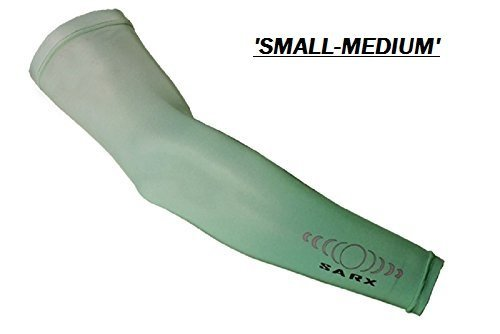 Sarx UPF50+ Sun Protection Arm Sleeves (Small/Medium) (Pair-2 Sleeves) (Sublime) ()