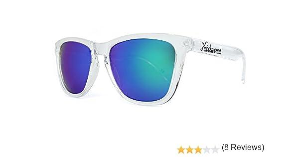 Gafas de sol Knockaround Classic Premium Clear / Green Moonshine