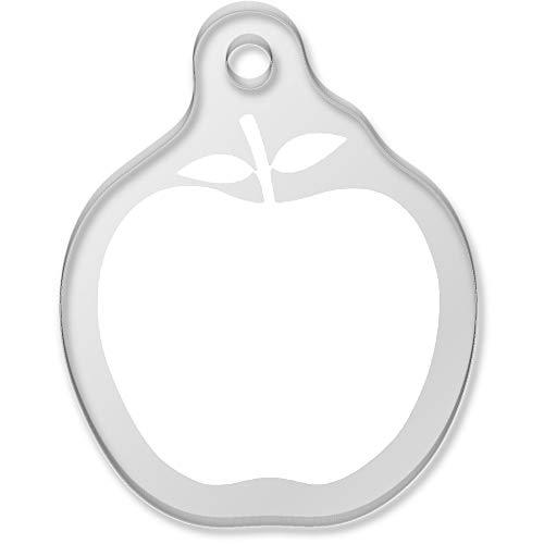 Apple Shaped Keychain - 7