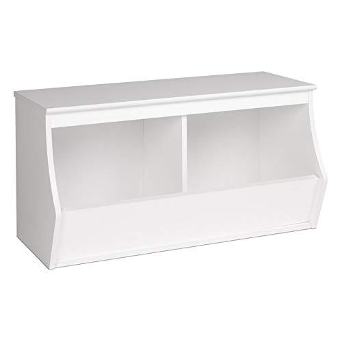 Prepac Monterey Stackable 2-Bin Storage Cubby, ()
