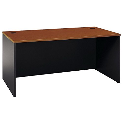 - Bush Business Furniture Series C 66W x 30D Office Desk in Auburn Maple