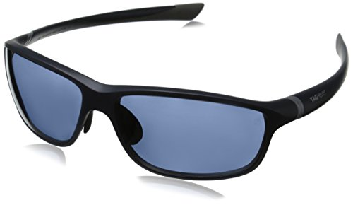 Tag Heuer 27 Degree 6021 403 6021403 Polarized Rectangular Sunglasses, Light Grey & Matte Dark Blue Watersport, 62 - With Degree Sunglasses