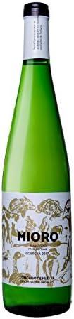 Mioro - Vino Blanco Joven Afrutado - DO Condado de Huelva- Variedad 100% Zalema - Botella de 75 cl - 6 botellas