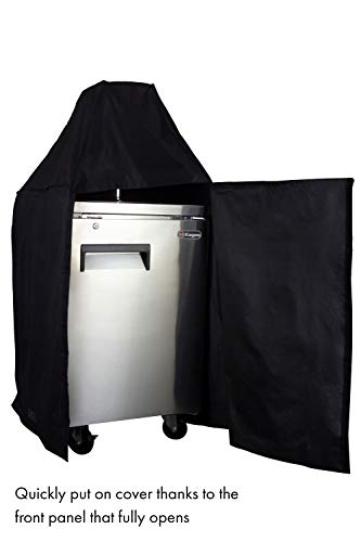 Kegco TX-KCVDP-39L EZ-On Commercial Kegerator Cover with Velcro Lined Door Panel by Kegco (Image #2)