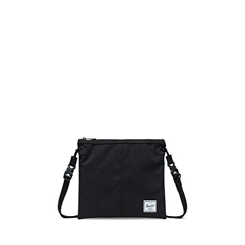 Herschel Alder Crossbody Bag-Black (Cross Whistle)