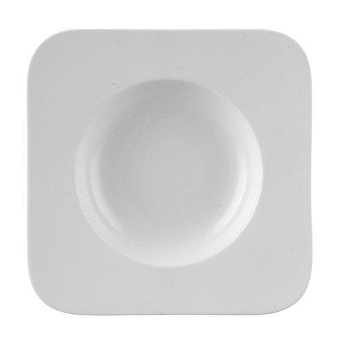 Rosenthal Free Spirit White Porcelain Pasta Plate - Rosenthal Free Spirit White Porcelain