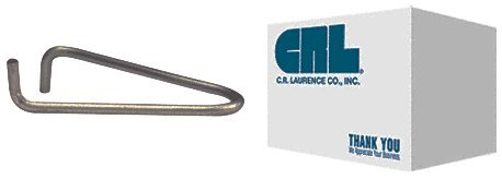 CRL Commercial Steel Sash Glazing Clips - 25000