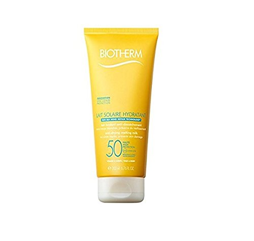 - Biotherm Lait Solaire Spf 50 UVA/UVB Protection Melting Milk Face and Body for Unisex, 6.76 Ounce