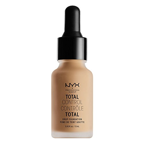 Nyx Professional Makeup Total Control Drop Foundation, Classic Tan, 0.43 Fluid Ounce