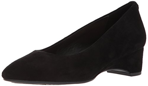 Taryn Rose Women's Babs Silky Suede Pump, Black, 9 M M US ()
