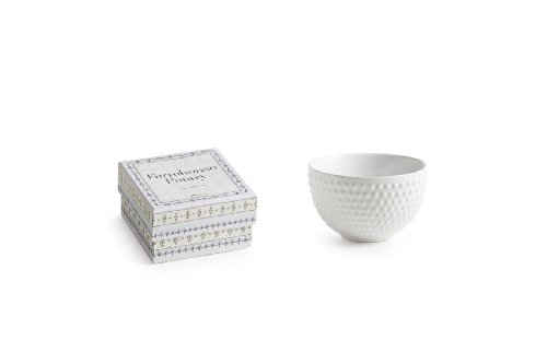 Rosanna Farmhouse Pantry Hobnail Bowl, Medium (Milk Punch Glass Bowl)