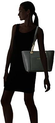 Calvin Klein Key Item Saffiano Front Pocket Chain Tote