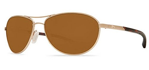 Costa Del Mar KC Sunglasses Rose Gold / Amber - Kc Costa Sunglasses