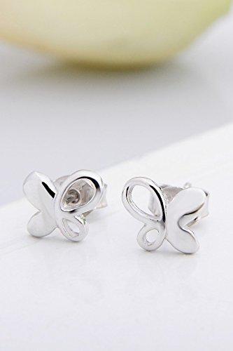 Thai Fashion Earrings earings Dangler Eardrop Butterfly Women Girls Love Your Personality s925 Sterling Silver Jewelry Unique Gift Elegant Woman Fashion Earring by KGELE Earrings