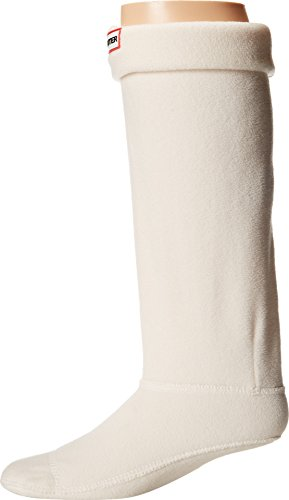 Hunter Boot Socks, Cream LG (Women's Shoe 8-10)