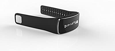 eHooray T2 Fitness Smart Band,Activity Tracker and Sleep Tracker with OLED Display,Bluetooth 4.0,Smart Watch,Smart Alarm,Incoming Call and SMS Reminder for iOS and Android Devices - Retail Package