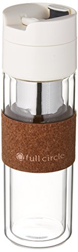Full Circle FC17510W Brumi Coffee Pour Mug, White