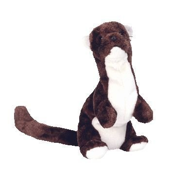 TY Beanie Baby - RUNNER the Ferret (Mean Cobra Poem) plush