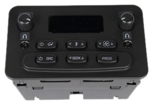 ACDelco 15-73594 GM Original Equipment Heating and Air Conditioning Control Panel with AM/FM Stereo Controls