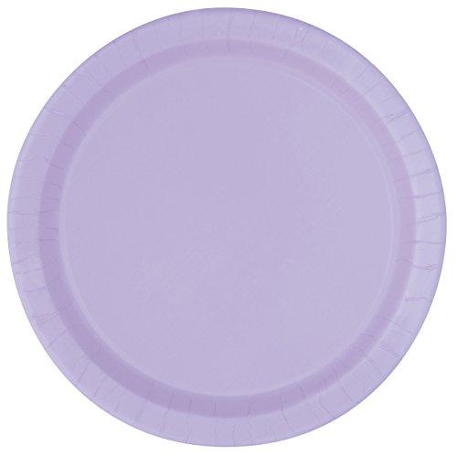 Lavender Paper Plates, 16ct