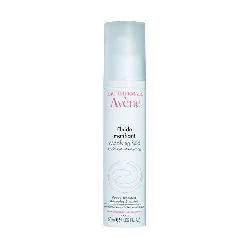 Eau Thermale Avene Mattifying Fluid, Primer Lotion for Oily Skin, Shine Control, 1.69 oz.