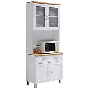 "Amazon.com - Pemberly Row Tall 32"" Wide China Kitchen ..."
