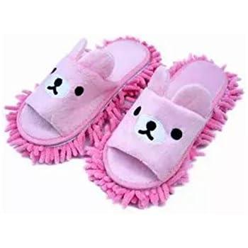 Amazon Com Liitrton 1 Pair Detachable Mop Slippers Shoes