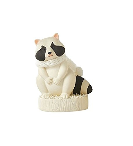 Bisque Collection - Dept 56 Snowbabies Classic Collection CUTE RACCOON Made of porcelain bisque