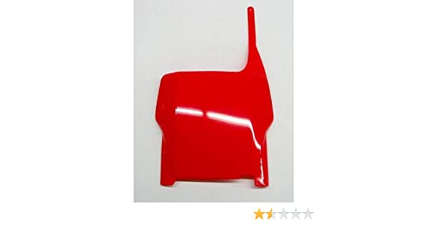 FOR HONDA PLATE# FRT 09 CRF450 RED UFO HO04639-070 Replacement Plastic