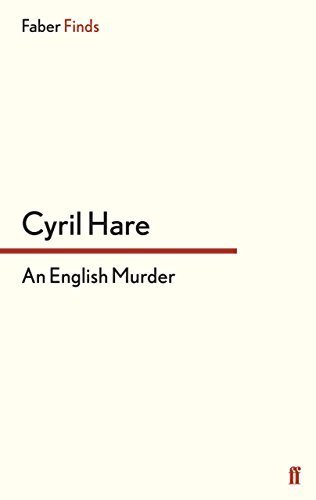 An English Murder by Cyril Hare (2009-09-22)