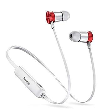 Auriculares Bluetooth ENCOK BASEUS S07-S9 Grey-Red inalámbrico para Correr Entrenamiento Gimnasio o Otros Deportes: Amazon.es: Electrónica