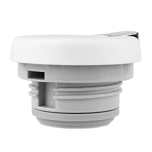 CHICTRY Hot Water Kettle Lid Thermos Coffee Pot Teapot Water Pitcher Lid Replacement with Press Button Type A Off-White One Size by CHICTRY (Image #3)