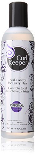 Curly Hair Solutions Curl Keeper Original, Total Control for Frizzy Hair in All Weather Conditions, Especially High Humidity (8 Ounce)
