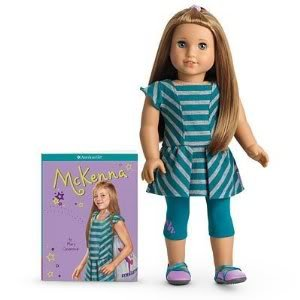 Toy / Game American Girl Of The Year 2012 Mckenna Doll & Book (W0720) With Accessories And Warm Up Outfit (American Girls Doll Mckenna)