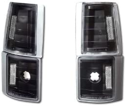 HS Power Black Clear Signal Parking Corner Lights Lamps K2 94-00 Gmc C10 Ck C//K Pickup//Suv