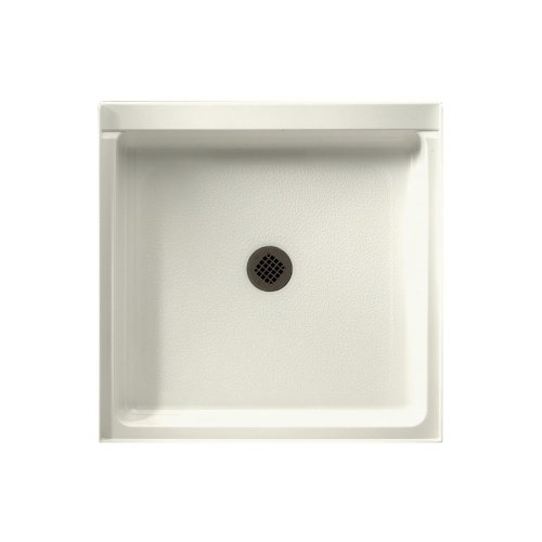 durable service Swanstone R-36NEO-018  Shower Base with Center Drain, Bisque