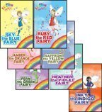 Eclipse Heather - The Rainbow Magic Fairies (Original) Complete Set 1-7: Ruby the Red Fairy, Amber the Orange Fairy, Saffron the Yellow Fairy, Fern the Green Fairy, Sky the Blue Fairy, Inky the Indigo Fairy, & Heather