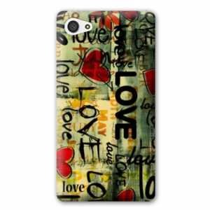 Amazon.com: Case Carcasa Sony Xperia Z5 Compact amour ...