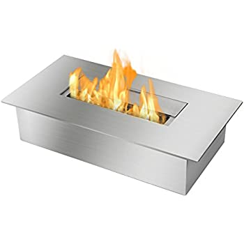 Buy Ignis Ventless Bio Ethanol Fireplace Burner Insert EB1400: Gel & Ethanol Fireplaces - Amazon.com ? FREE DELIVERY possible on eligible purchases