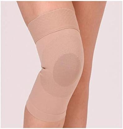 Kaiyitong001 膝の保護、半月板損傷、膝蓋骨靱帯動き、古い冷たい足ラッカー関節炎暖かい空調室、ノンスリップ超薄型膝パッド、黒XXL(1 /のみ),スタイリッシュで絶妙 (Color : Flesh pink, Size : L)